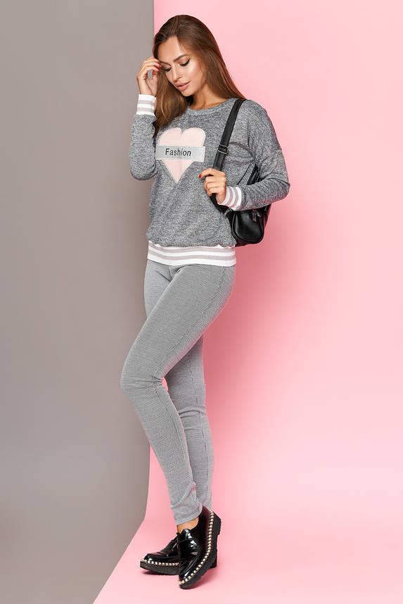 Трикотажные женские брюки-леггинсы, фото 2