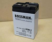 Аккумулятор 6V 4.5Ah  Bossman profi 3FM4.5С - LA645, фото 1