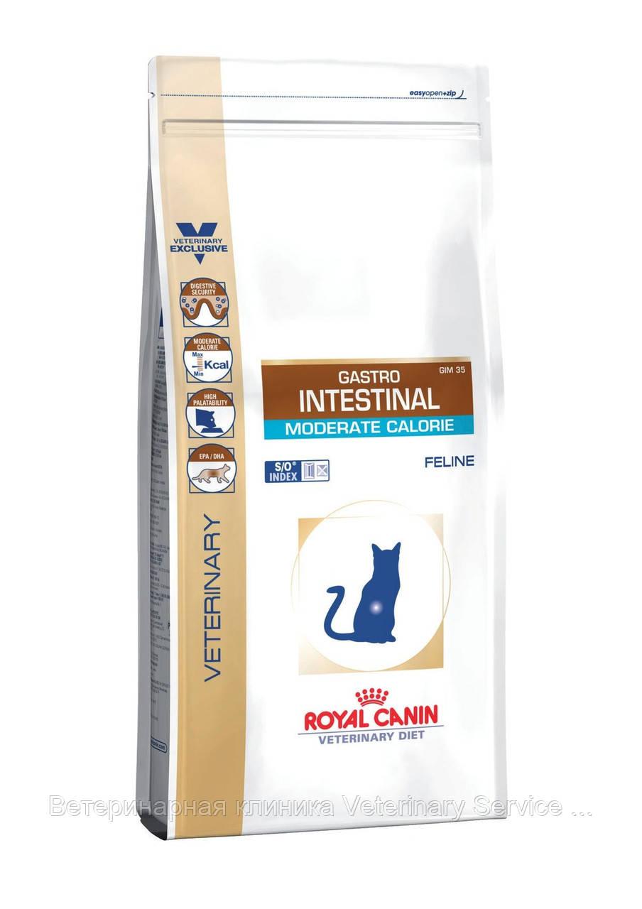 GASTRO INTESTINAL Moderate Calorie Cat 0.4 kg