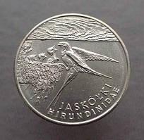 Польща 20000 злотих 1993 Фауна Ластівка
