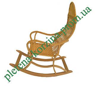 Плетеное Кресло-качалка из лозы (РАЗБОРНОЕ) Арт.12610, фото 2