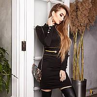 Женственное мини-платье, фото 1