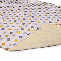 Пеленка двустороняя непромокаемая ЭКО ПУПС Eco Cotton в ассорт