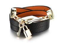 Женский кожаный браслет DeParis KEY & LOCK, фото 1
