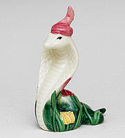 Фарфоровая фигурка Змея (Pavone)