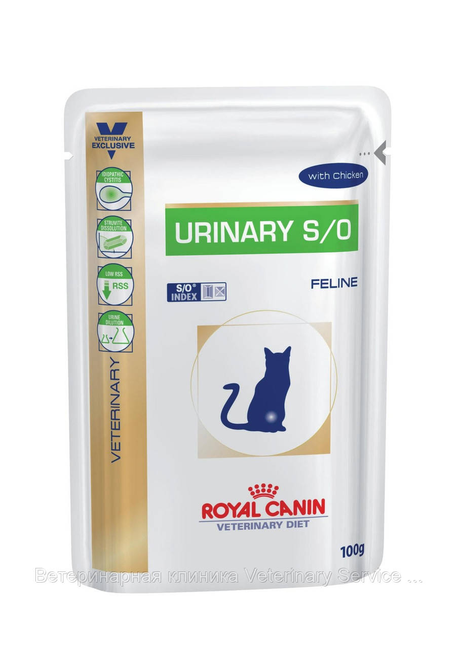URINARY S/O Cat 100 g