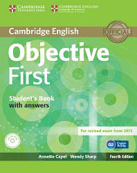 Objective First Fourth Edition Student's Book with answers and CD-ROM