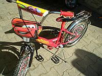 Велосипед тачки (16)  2-х колесный со  звонком ,зеркалом,ручным тормозом, фото 1