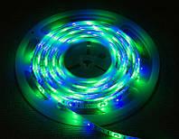 Світлодіодна стрічка 3528 RGB 60LED/m IP65 вологозахищена, фото 1