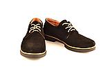 Туфли для мальчика подростковые шнуровка черные натуральная замша от производителя KARMEN 332021, фото 4