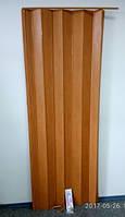 Дверь гармошка ( Ширма)  - Вишня 820х2030мм.
