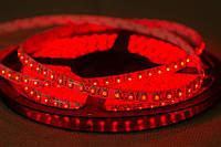 Dilux - Светодиодная лента SMD 3528 120LED/м, влагозащищенная IP65, красная.