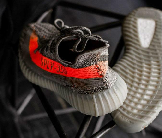 dd7f85dda20d Adidas Yeezy Boost 350 V2 Beluga   Кроссовки Мужские  Летние   Серые-оранжевые (sply) — в Категории