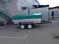 Прицеп двухосный автомобильный Лев-250, фото 1