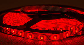 Dilux - Светодиодная лента SMD 3528 60LED/м, негерметичная IP33, красная.