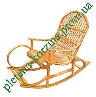 Плетеное Кресло-качалка из лозы Арт.12642
