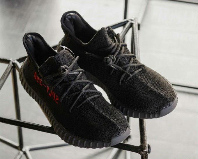 95abe006 Adidas Yeezy Boost 350 V2 BRED   кроссовки мужские; летние; черные (sply)