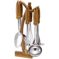 Набор кухонных принадлежностей 7 предметов Wellberg WB-4026