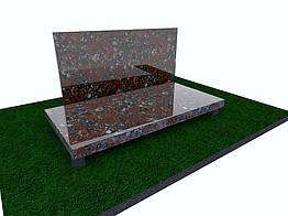 Плитка гранитная Капустинская полированная 600*300*30 (стандарт)
