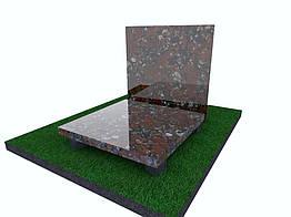 Плитка гранитная Капустинская полированная 300*300*40 (стандарт)