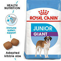 Корм Роял Канин Джайнт Юниор Royal Canin Giant Junior для щенков собак гиганских пород 15  кг