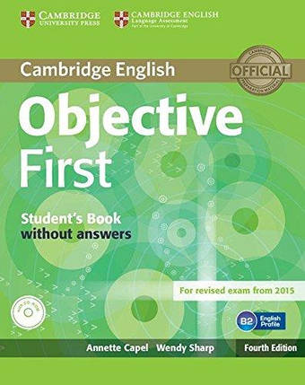 Objective First Fourth Edition Student's Book without answers with CD-ROM, фото 2