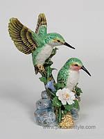 Фарфоровая фигурка Птицы (Pavone)