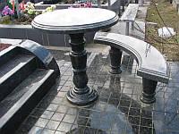 Скамейка и стол на могилу