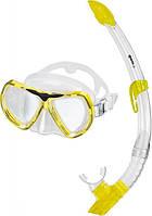 Набор Mares  Kona (маска + трубка) для дайвинга (желтый)