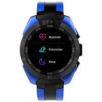 Умные часы Smart Watch Microwear L3 Blue MTK2502 380 мАч, фото 3