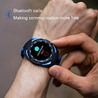 Умные часы Smart Watch Microwear L3 Blue MTK2502 380 мАч, фото 6