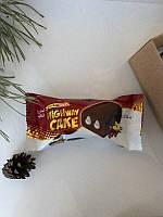 Highway Cake  Бисквитный мраморный кекс с какао и ванильной начинкой