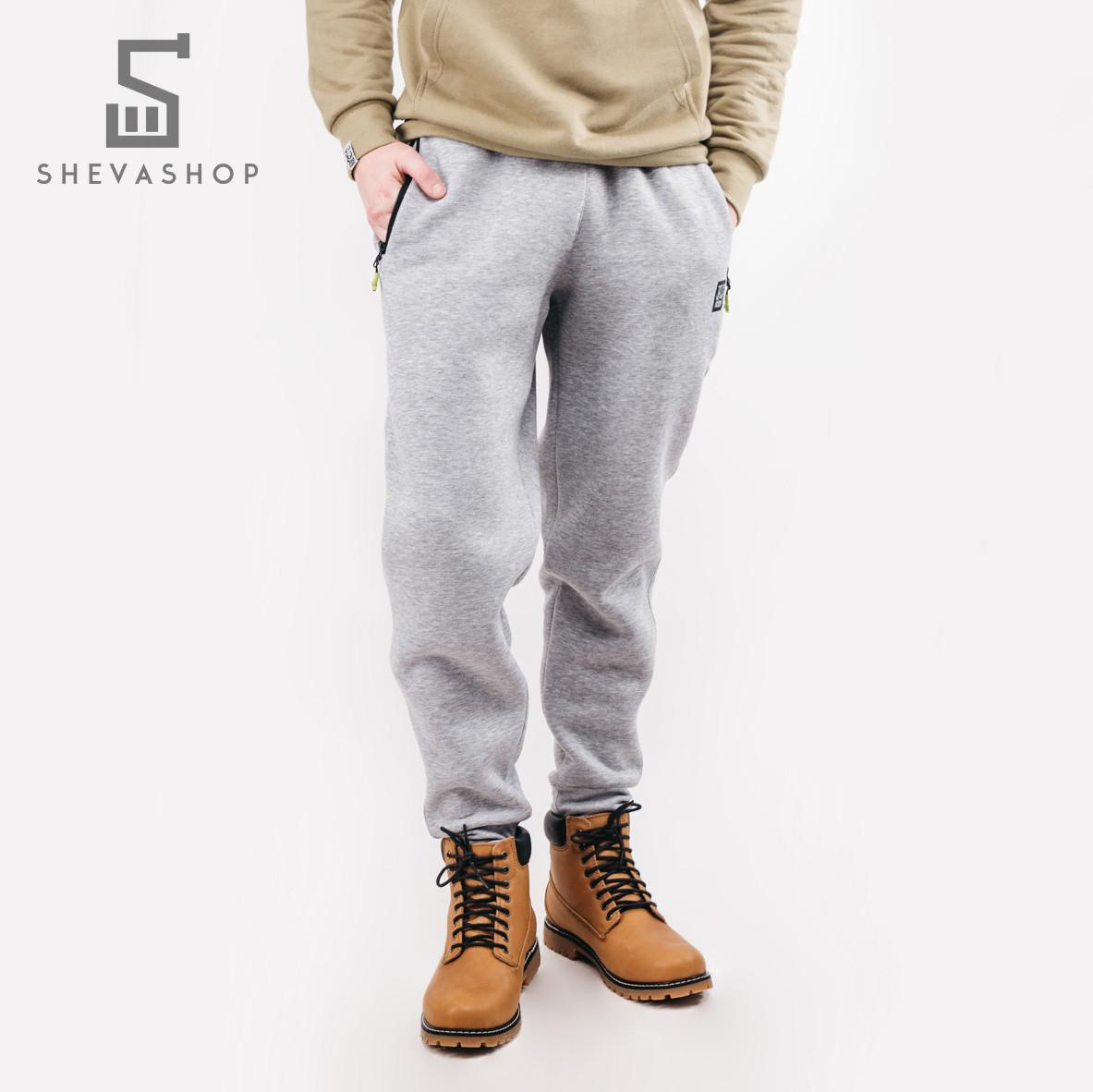 a3d7f3c2 Теплые спортивные штаны UP FLEX серые - купить по лучшей цене в ...