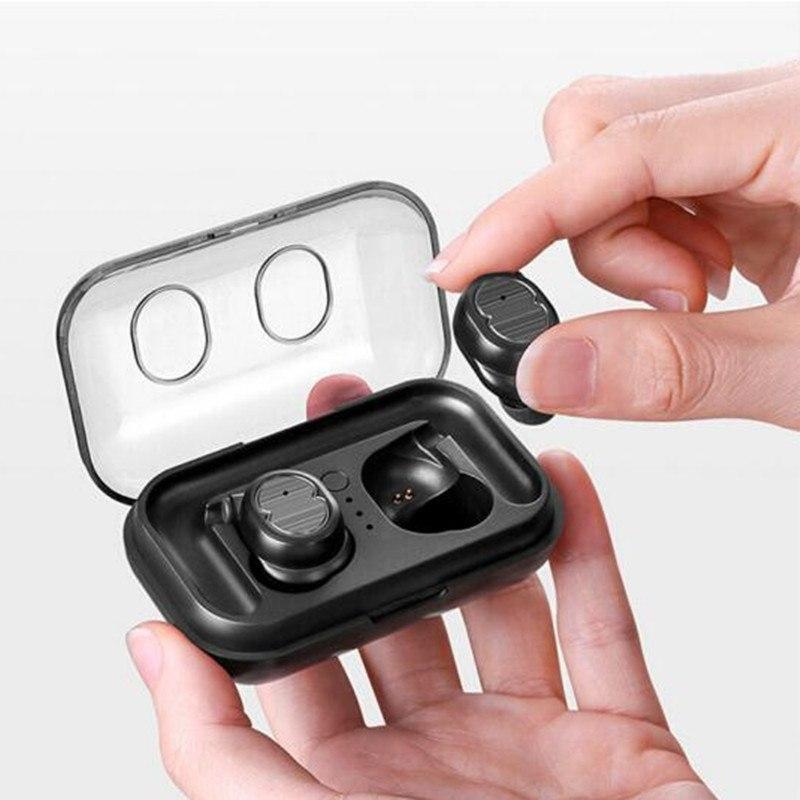 Беспроводные наушники-гарнитура Touch Two TWS-8 Bluetooth 5.0 зарядный кейс
