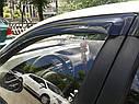 Ветровики для AUDI A6 C6 (2004 - 2011), фото 4