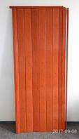 Дверь гармошка глухая 810 х 2030 х 6  Ольха Красная, фото 1