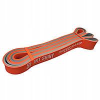 Эспандер-ленточный (резинка для фитнеса и спорта) Sport Shiny Super Band 28 мм 17-26 кг