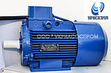 Электродвигатель АИР100S2E 4 Квт 3000 об/мин с электромагнитным тормозом, фото 4