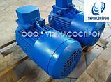 Электродвигатель АИР100L4E 4 Квт 1500 об/мин с электромагнитным тормозом, фото 5