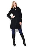 Красивое приталенное женское пальто для осенне-весеннего сезона