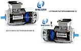 Электродвигатель АИР100L4E 4 Квт 1500 об/мин с электромагнитным тормозом, фото 3