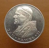 Польша  1000 zł  1982 - Визит Ион Павел II - СЕРЕБРО