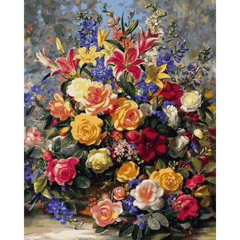 Картина по номерам Летнее великолепие, 40x50 см., Mariposa