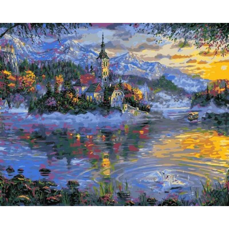 Картина по номерам Осеннее великолепие, 40x50 см., Mariposa