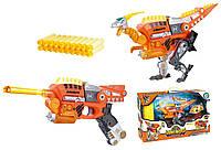 Трансформер динозавр,динобот,бластер Dinobots Велоцираптор SB378