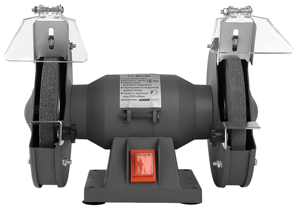 Точильный станок Энергомаш 125 мм, 230 Вт