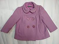 Кашемировое пальто для девочки Benetton  0-1 года
