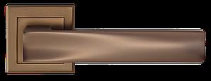 Дверные ручки LINDE A-2010 MCF матовая темная бронза