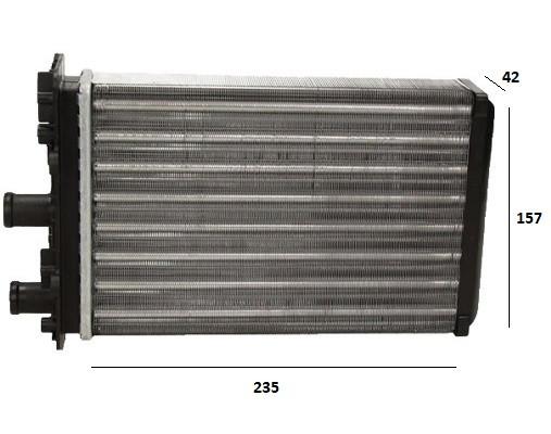 Радиатор печки VW T4 Transporter (FPS)