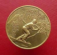 Польша 2 злотых 1998 Спорт, Зимние ОИ в Нагано